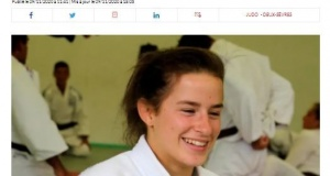 Mélanie Vieu Championne d'Europe -23 ans